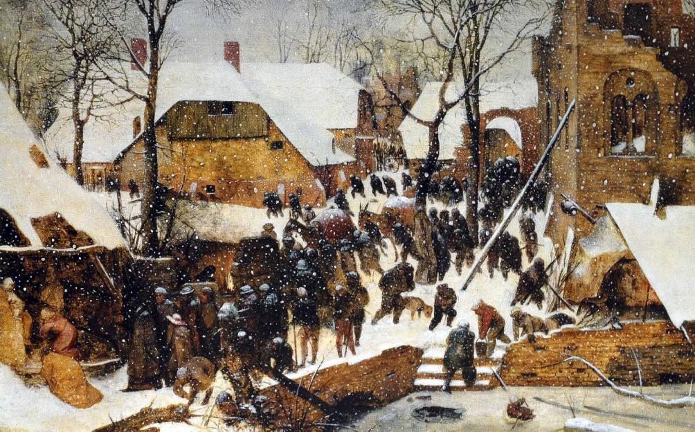 Pieter Bruegel cel Bătrân - Adorația Magilor